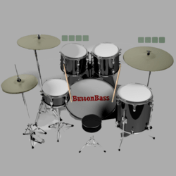 Virtual drum kit