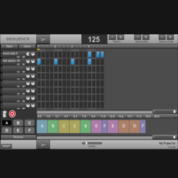 Drum pattern sequencer