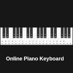 Virtual Piano Keyboard