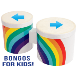 Virtual bongo drums for kids